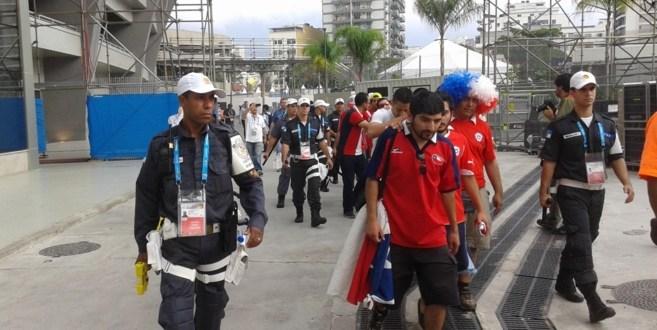 Invasión de hinchas chilenos y destrozos en el Maracaná