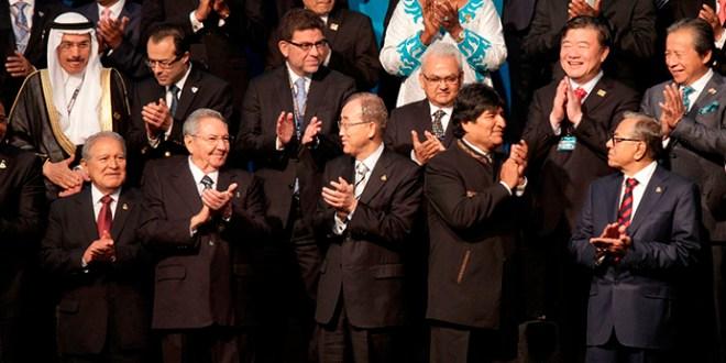 Sánchez Cerén  destaca la inclusión de los pueblos originarios en América Latina