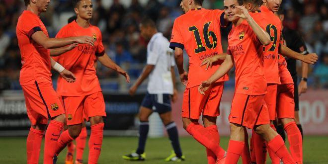 Barcelona inicia era Luis Enrique con victoria de los juveniles