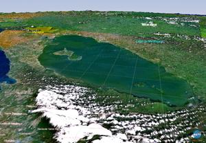 Canal Interoceánico de Nicaragua cruzará el Lago Cocibolca