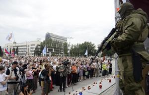 Fuerzas ucranianas avanzan hacia Lugansk y pierden avión militar