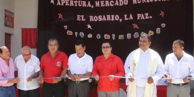 Comuna apertura mercado municipal