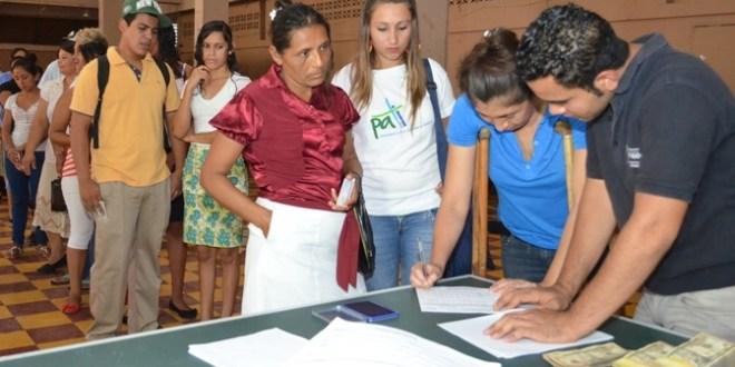 Entregan  primer desembolso del PATI a siete municipios