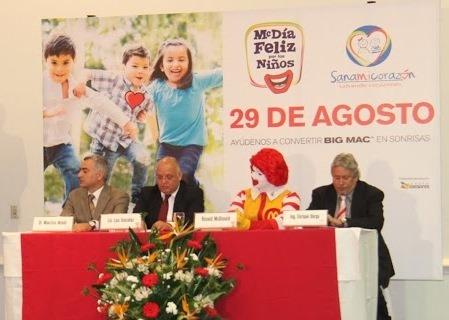McDonald's realizará el McDía Feliz este 29 de agosto
