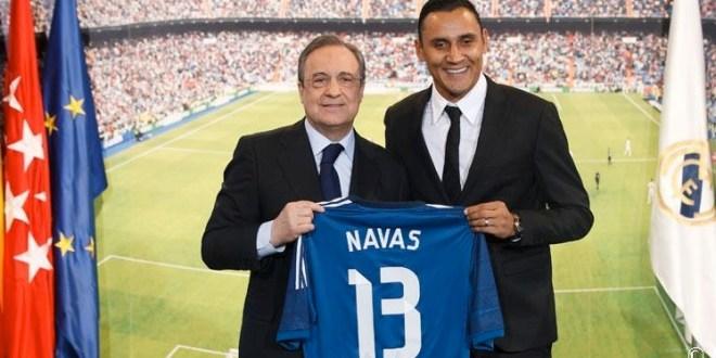 """Navas firma con Real Madrid: """"El día más importante de mi carrera"""""""