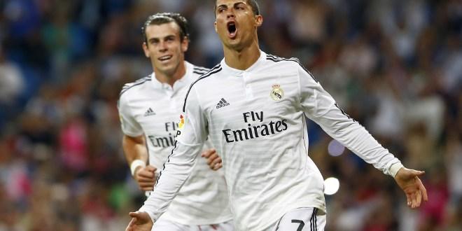 Cristiano Ronaldo anotó cuatro goles en la victoria del Real Madrid ante el Elche. Foto Diario Co Latino/Xinhua