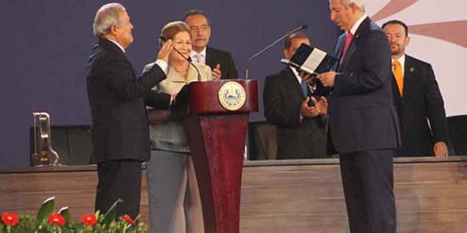 Sánchez Cerén, primer efemelenista  que asume como Presidente