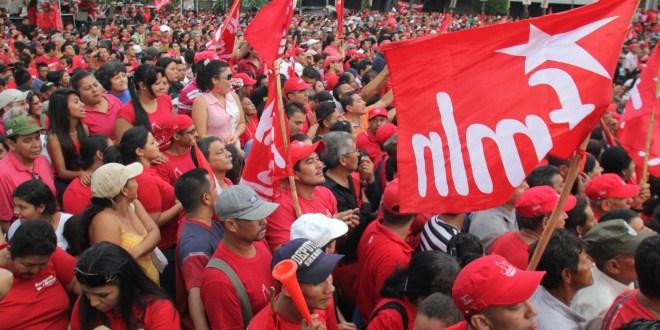 El FMLN abre campaña con megajornada  de contacto con la población