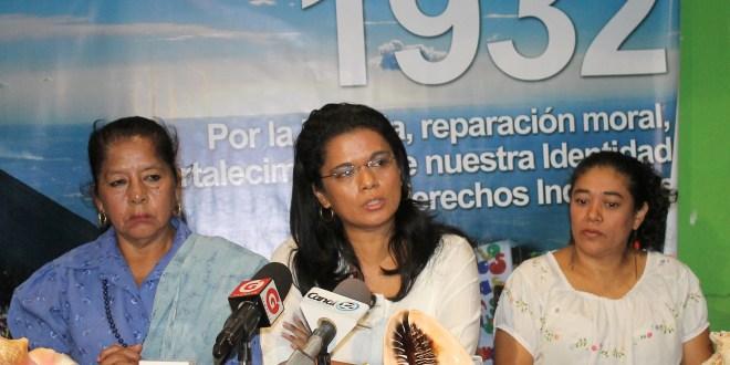 Organizaciones exigen reivindicación de derechos a población indígena salvadoreña