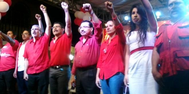 Fidel Fuentes es proclamado candidato por San Marcos