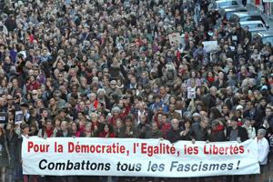 """Marea humana en París, """"capital del mundo"""", en manifestación de repulsa a atentados"""