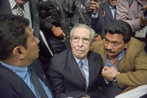 Justicia guatemalteca retoma juicio por genocidio contra exdictador Ríos Montt