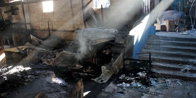 Incendio en Mercado Central deja cuantiosos daños