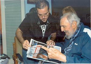 Cuba publica primeras fotos de Fidel Castro en casi seis meses