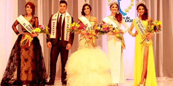 El Salvador el país de las reinas
