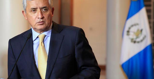 Renuncia el presidente de Guatemala, Otto Pérez