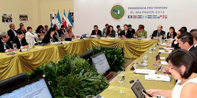 Canciller Martínez se reúne con Consejo de Ministros del SICA