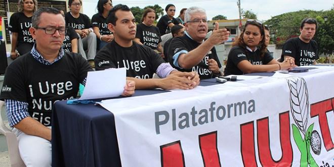 Organizaciones sociales exigen transparencia el proceso de elección del Fiscal