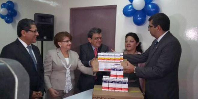 Ministerio de Salud recibe medicamentos para el VIH de Brasil