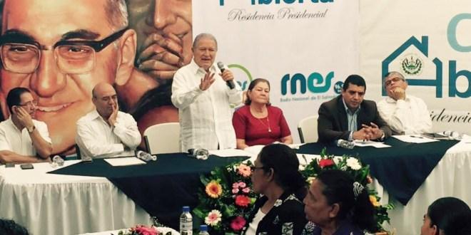 La alfabetización es puerta hacia sociedades sostenibles: Salvador Sánchez Cerén