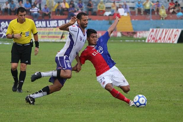 Dragón complicó a Alianza y le sacó un empate como visitante. Foto Diario Co Latino/ Rodrigo Sura.