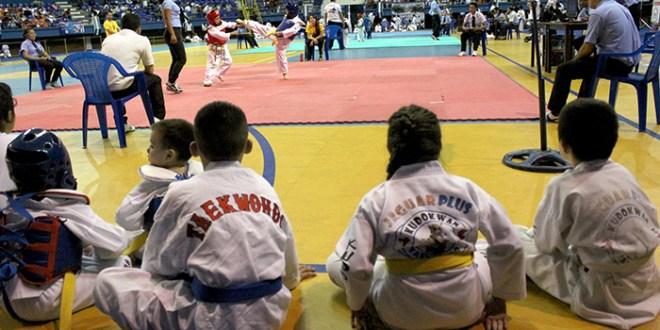 Infantes celebraron el Día Internacional del Taekwondo