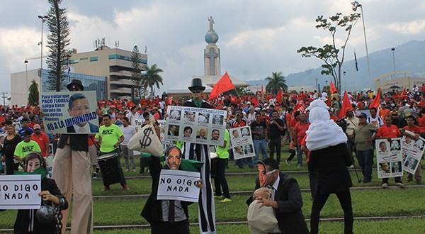 Organizaciones exigen enjuiciar a corruptos de gobiernos de ARENA
