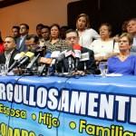 Familiares de los militares requeridos por la Interpol reclaman agilidad a la CSJ. Foto Diario Co Latino/ Jorge Rivera.