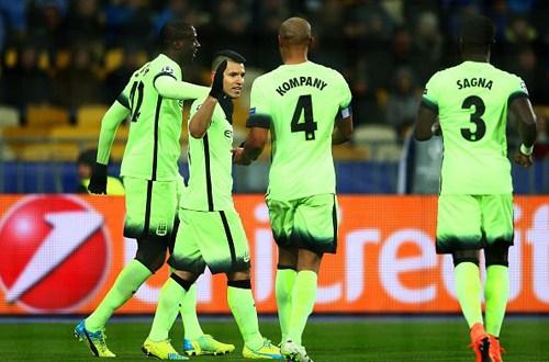 Manchester City gana 3-1 en Kiev y da un gran paso hacia cuartos