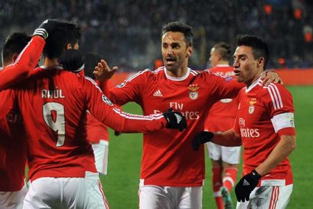 Benfica se une a Real Madrid y Wolfsburgo en los cuartos de Champions