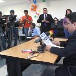 Ulises Marinero,jefe de comunicaciones del Centro Judicial Isidro Menéndez. Foto diario  Co Latino/ Guillermo Martínez