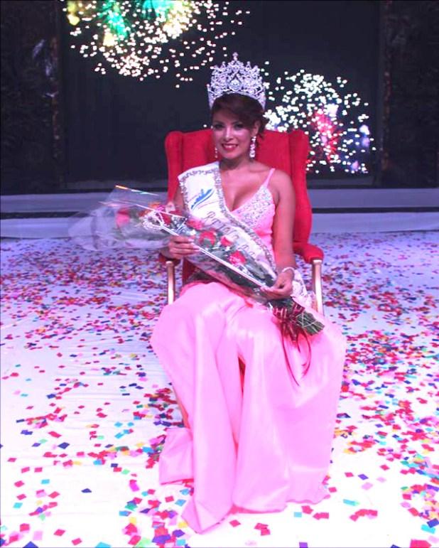 Shelby Vásquez electa como la soberana de las fiestas patronales de San Marcos. Foto Diario Co Latino/ Cortesía.