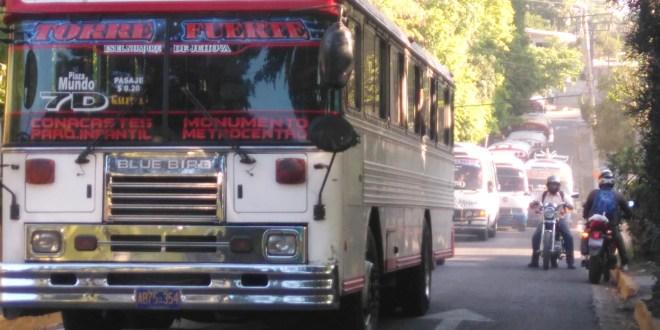 Rutas del transporte público en Soyapango inician cambio de recorrido