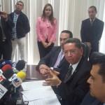 Douglas Meléndez, Fiscal General, haber encontrado en una situación precaria las investigaciones sobre corrupción. Foto Diario Co Latino.