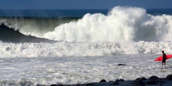 Protección Civil emite Alerta Verde en la zona costera por incremento en oleaje