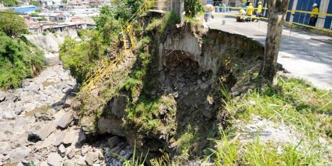 MOP concluye obras de protección por cárcava  en Quebrada La Lechuza, zona CIFCO