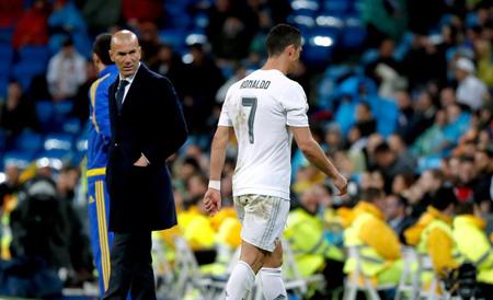 Zidane confirma que Cristiano Ronaldo no jugará ante Rayo Vallecano