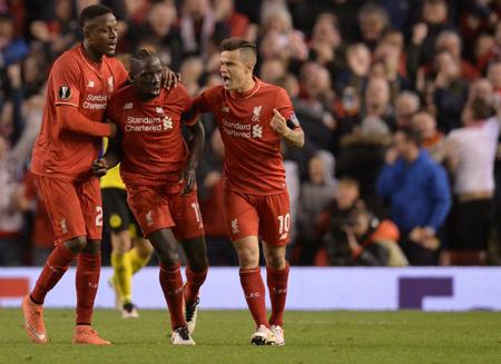 Liverpool elimina al Dortmund con un épico 4-3 en Anfield