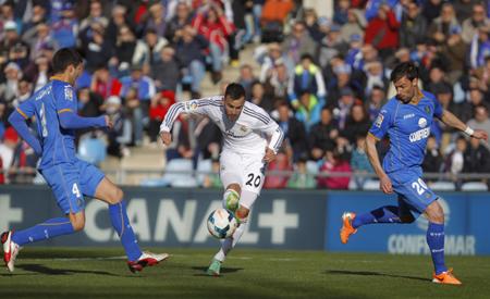 Real Madrid va por el triunfo ante Getafe para acercarse más al Barcelona