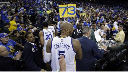 Warriors superan el mítico récord de los Bulls de Jordan