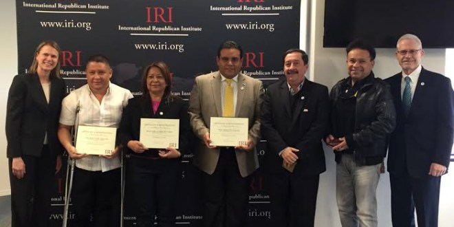 Alcaldes premiados por buenas prácticas de gobernabilidad