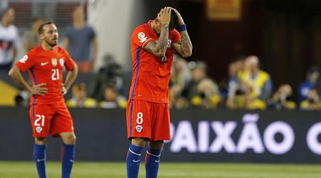 El campeón Chile está en shock