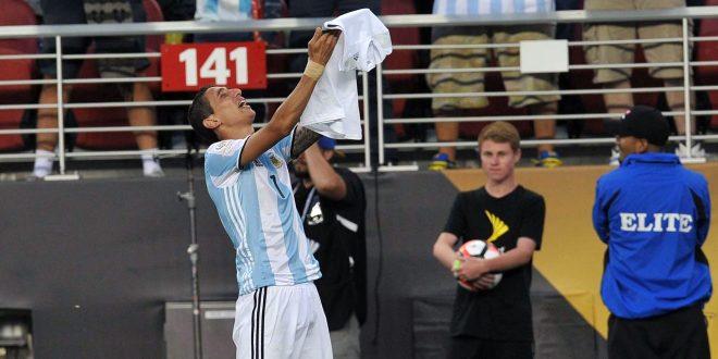 Di María, protagonista del instante más emotivo de la Copa América