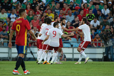 España cae ante Georgia y siembra desconfianza antes de Eurocopa