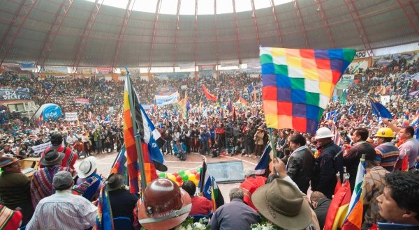 Comienzan festejos en Bolivia por los 11 años de la Revolución Democrática