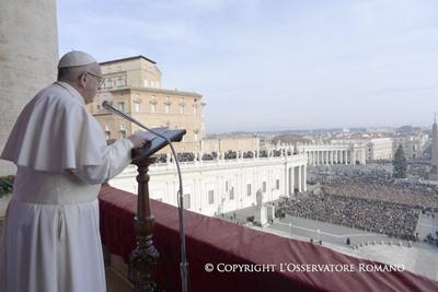 El papa pide el fin de la guerra en Siria y conciliación en Colombia y Venezuela
