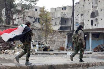 El Ejército sirio recupera la ciudad de Alepo