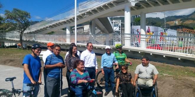 CONAIPD verifica cumplimiento de normas de accesibilidad universal en pasarelas