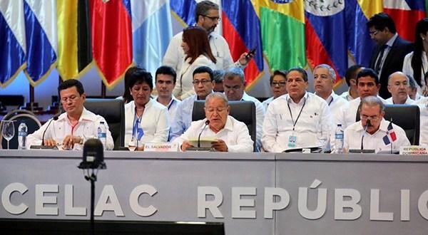 """Continuaremos trabajando para posicionar asuntos de interés común"""": Salvador Sánchez Cerén"""