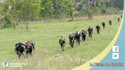"""FARC avanzan en """"última marcha"""" hacia zonas de desarme en Colombia"""